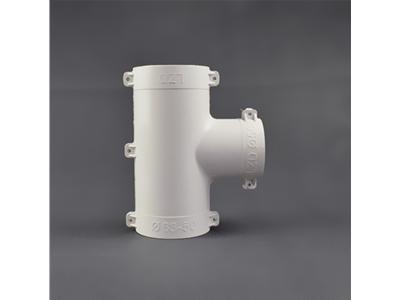 PVC外包配件异径三通